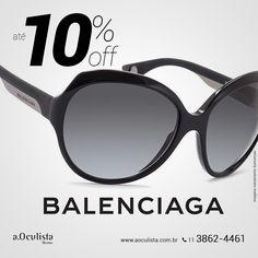 Óculos de Sol Balenciaga com até 10% de desconto Compre pelo site em até 10x Sem Juros e Frete Grátis nas compras acima de R$400,00 reais. 👉 www.aoculista.com.br/BALENCIAGA #aoculista #balenciaga #glasses #sunglasses #eyeglasses #oculos