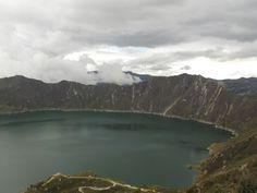 Quilotoa volcano, Ecuador