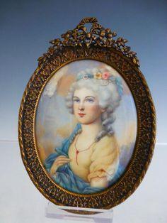 Queen Marie Antoinette of France. Rainha Maria Antonieta da França.