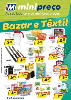 Bazar & Têxtil: Electrodomésticos 08/10/2015 a 21/10/2015 Minipreço