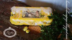 Lavenderia - decoupage i inne: Eco - pojemniczek na pisanki