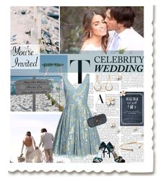 """Celebrity Wedding"" by grapecrush ❤ liked on Polyvore featuring Stuart Weitzman, Cachet London, Carolina Bucci, IanSomerhalder, CelebrityWedding and NikkiReed"