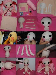 DIY Lalaloopsy Rag Doll Style How to make it by harleyquinne
