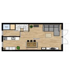 small modern rustic home Modern Rustic Homes, Life Is Good, Floor Plans, Layout, Flooring, How To Plan, Drinks, Design, Food
