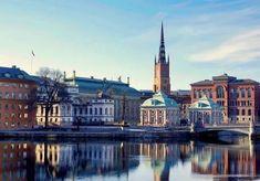 مدينة ستوكهولم السويدية