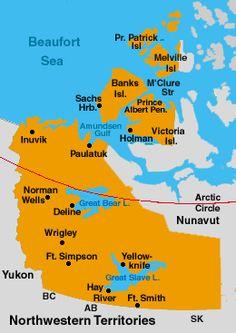 nunavut airports map
