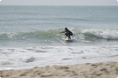 Sway - my granddaughter at Surfing Camp on Cape Hatteras