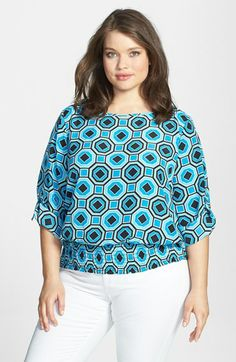MICHAEL Michael Kors 'Dring' Top (Plus Size) available at #Nordstrom