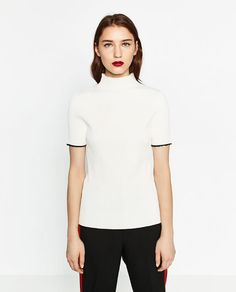 Image 2 of RIBBED SWEATER from Zara