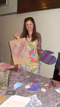 Printing Class with Melanie Brummer  info@dyeandprints.co.za