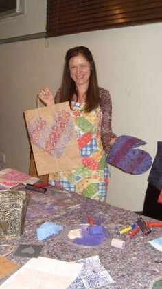 Printing Class with Melanie Brummer  info@dyeandprints.co.za