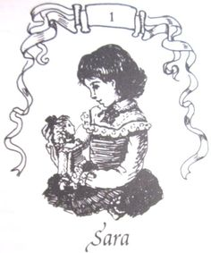 Sara Crewe from A Little Princess