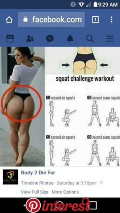 Pin by MaGgiie OrTiz on Ejercicios | Pinterest | Workout, Workout challenge and Butt Workout   Pin by MaGgiie OrTiz on Ejercicios | Pinterest | Workout, Workout challenge and Butt Workout