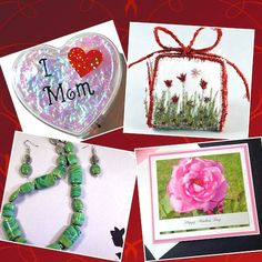 Discover Handmade May 3 - It is my pleasure to introduce the following talented artists: ElectronicGirl, NellsEmbroidery, TamsJewelry, and BethiesCards.  Read More > http://handmadeartists.com/blog/discover-handmade-may-3/ #HAFshop #handmadeartists