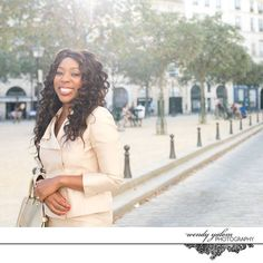Personal Branding Photoshoot with Maxine Nwaneri in Paris, France by Wendy K Yalom