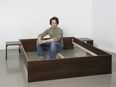 Minimalist design bed - Project instructions - DIY knowledge | Bosch power tools for do-it-yourselfers