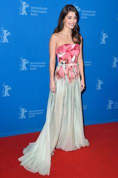 Alessandra Mastronardi in Elie Saab Resort 2015 - 'Life' Premieres in Berlin