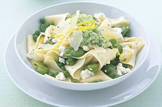 Aromatic lemon turns this fresh and healthy pasta recipe into a gourmet's delight.