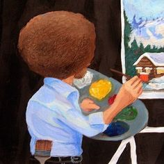 ode to bob ross