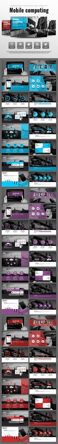 Mobile Computing (PowerPoint Templates)