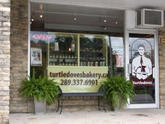 Turtledoves Bakery Burlington, Ontario.  The white sandwich bread is my weekend treat!
