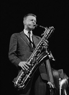 themaninthegreenshirt: gerry mulligan