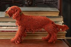 Red Setter from Best in Show: Knit Your Own Dog by Sally Muir and Joanna Osborne. Published by Pavilion.