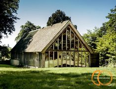 Looking for timber frame companies? Timber framed buildings by Carpenter Oak Ltd, experts in timber framed construction & timber frame commercial buildings. Carpenter, Construction, Exterior, Cabin, House Styles, Frame, Studios, Buildings, Public