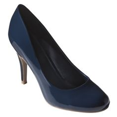 Women's Mossimo® Pearce Pumps- Navy Patent.