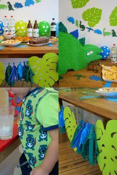Dino-Party, Dinosaurier, Kindergeburtstag