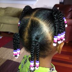 43 Trendy Black Kids Hairstyles Braids for Kids Protective Styles - Childrens Hairstyles, Lil Girl Hairstyles, Black Kids Hairstyles, Natural Hairstyles For Kids, Braided Hairstyles, Teenage Hairstyles, Protective Hairstyles, Hairstyles Haircuts, Little Girl Braids