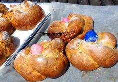 llimaverda: Mona con huevos de colores