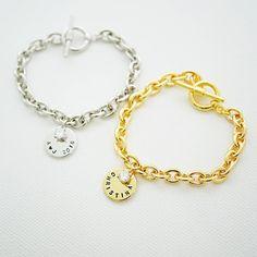 Monogramm-Armband personalisierte Armband erste von earringsnation