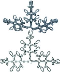 No.54 Dusty Miller Crochet Flower Motifs / 더스티 밀러 코바늘 플라워 모티브도안