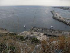 Affaccio sul porto dal santuario
