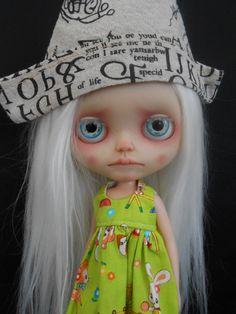 Rbl Custom Blythe Doll a placas frontales por Spookykidsworkshop