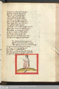 311 [151r] - Ms. germ. qu. 6 - Der Renner - Page - Mittelalterliche Handschriften - Digitale Sammlungen Schwaben, [1446; um 1450]