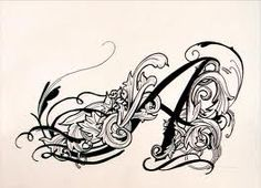I think this A would make a beautiful tattoo Autumn