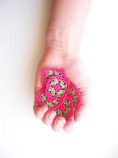 Crochet Granny Square Appliques
