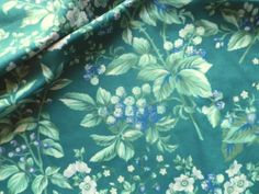 Vintage Laura Ashley Cotton Interiors Fabric Green 'Bramble' | eBay  Decorated a bathroom with this Laura Ashley Fabric, Laura Ashley Home, Willow Grove Park, Chestnut Hill, Bramble, Deco, Home Interior Design, Cottages, Childhood Memories