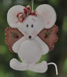 Een engel van een muis [2 stuks]: