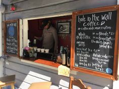 'Hole In The Wall' Fosters Sense Of Community With Sidewalk Coffee in North Beach, San Francisco
