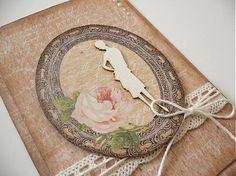 Pohľadnica pre dámu by Daniela.D - SAShE.sk - Handmade Pohľadnice