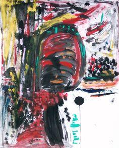 Sobre os segredos, os silêncios, os encontros, o natural... Técnica mista sobre papel Wanderson Souza  80 x 100  Disponível  Modern Art Painting Abstract  Mixed Media