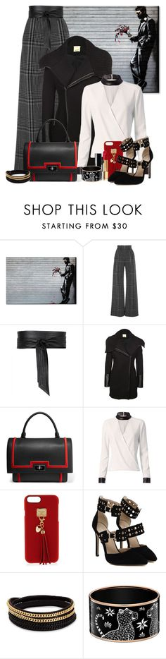 """""""Dean Martin's Modern Woman"""" by sailorjerri ❤ liked on Polyvore featuring Trademark Fine Art, Vilshenko, Jaeger, Pinko, Givenchy, Exclusive for Intermix, Henri Bendel, Vita Fede and modern"""