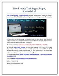 Live project training at bopal,ahmedabad