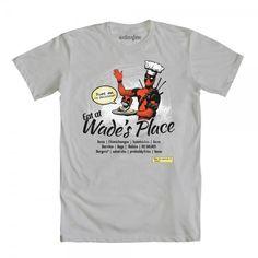 Eat At Wade's basic men's crew tee