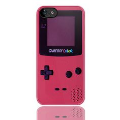 iPhone case Gameboy Pink for iPhone5