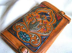tooled leather patterns