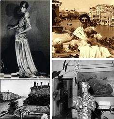 The wealthy American art collector Peggy Guggenheim (August 26, 1898–December 23, 1979).